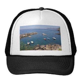 Port of Riomaggiore in Italy Trucker Hat