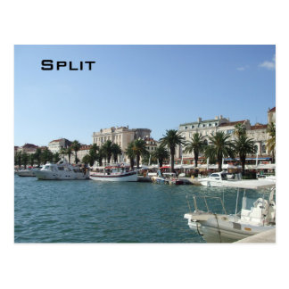 Port of Split Postcard