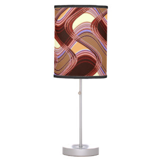 Port & Peach Table Lamp by Artist C.L. Brown