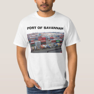 port, PORT OF SAVANNAH T-Shirt