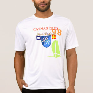 Port Richman Cayman Isles No 98 Sailing Clothing T-Shirt