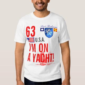 Port Richman I'm On a Yacht Funny Nautical Slogan T Shirt