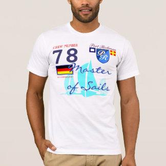 Port Richman Sailing Master of Sails German Flag T-Shirt