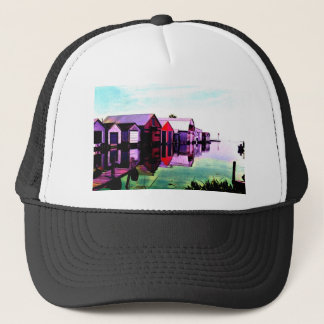 Port Rowan Boathouses Trucker Hat