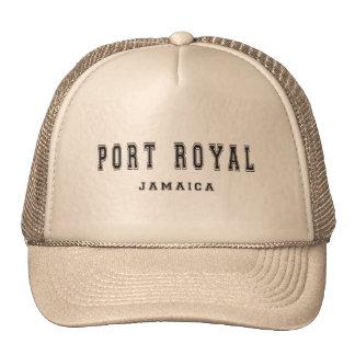 Port Royal Jamaica Trucker Hat
