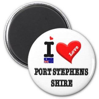 PORT STEPHENS SHIRE - I Love Magnet