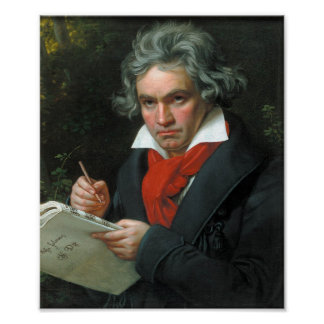 Portable Beethoven Poster