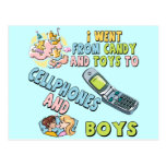 Portables et T-shirts et cadeaux de garçons pour e Cartes Postales