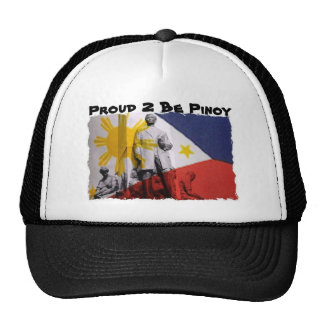 portada_01, Proud 2 Be Pinoy Trucker Hat