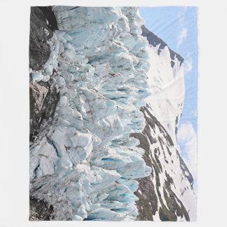 Portage Glacier, Alaska, USA Fleece Blanket