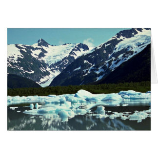 Portage Glacier, north of Port Seward, Alaska Card