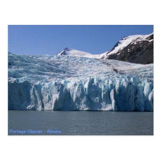 Portage Glacier postcard