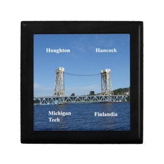 Portage Lake Lift Bridge Gift Box