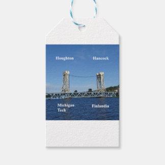 Portage Lake Lift Bridge Gift Tags