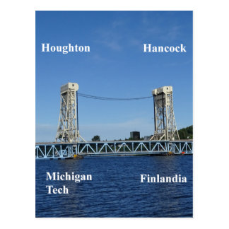 Portage Lake Lift Bridge Postcard