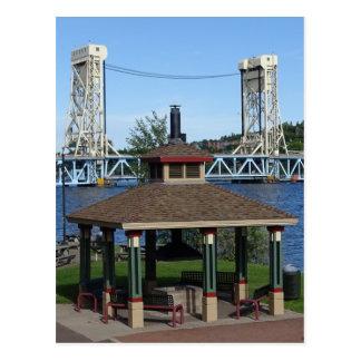 Portage Lake Lift Bridge Postcard