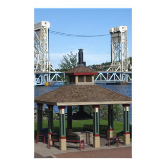 Portage Lake Lift Bridge Stationery