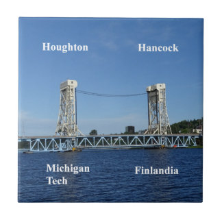 Portage Lake Lift Bridge Tile
