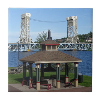 Portage Lake Lift Bridge Tiles