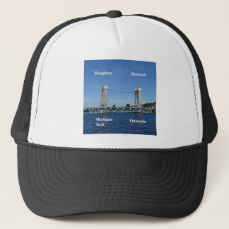 Portage Lake Lift Bridge Trucker Hat