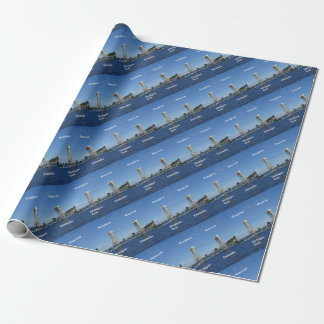 Portage Lake Lift Bridge Wrapping Paper