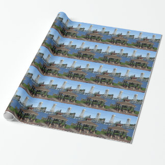 Portage Lake Lift Bridge Wrapping Paper