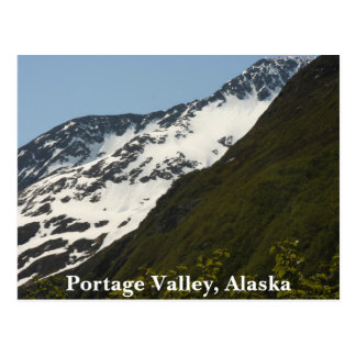 Portage Valley, Alaska Postcard