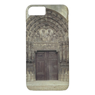 Portal and surrounding sculptures with biblical fi iPhone 7 case