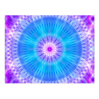 Portal of Life Mandala Postcard