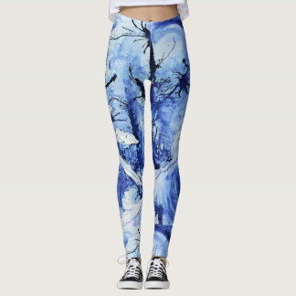 Portal Of Pools- Otherworldly Art Leggings
