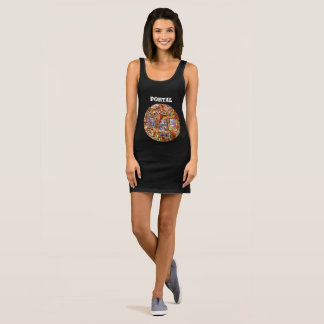 Portal Sleeveless Dress