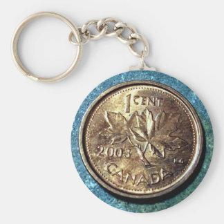 Porte - clé (avant) de penny de 2003 Canadiens Porte-clé