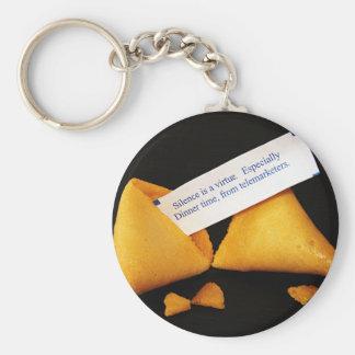 Porte - clé de biscuit de fortune porte-clé rond
