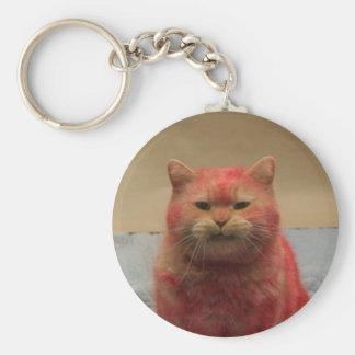 Porte - clé de calendrier de chaton d'opération porte-clé rond