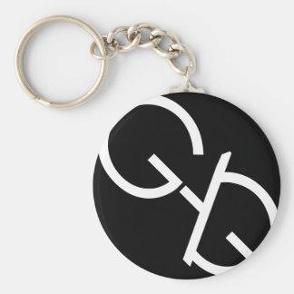 Porte - clé de logo de bâillon porte-clés
