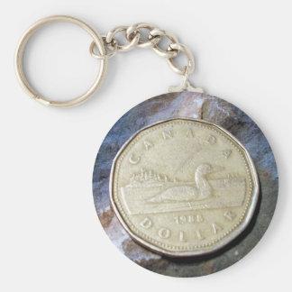 Porte - clé de Loonie de 1988 Canadiens