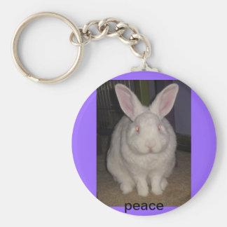 porte - clé de paix porte-clé rond