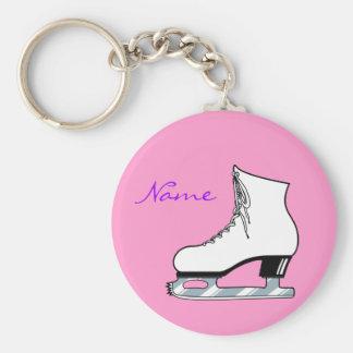 Porte - clé de patin porte-clé rond
