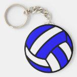 Porte - clé de volleyball porte-clé rond