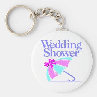 Porte - clé de wedding shower porte-clé rond