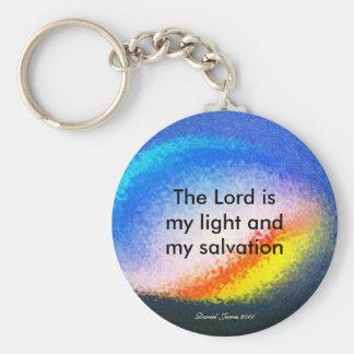 Porte - clé d'écriture sainte porte-clé rond