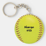 Porte - clé du base-ball de Fastpitch Porte-clefs