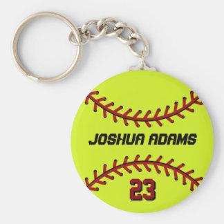 Porte - clé du base-ball pour des fans et des porte-clé rond