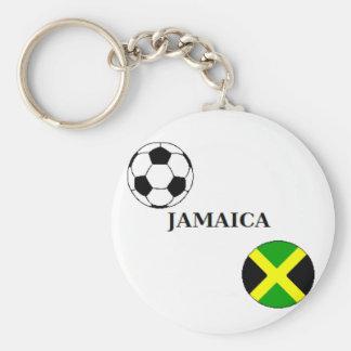 Porte - clé du football de la Jamaïque Porte-clé Rond