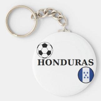 Porte - clé du football du Honduras Porte-clé Rond