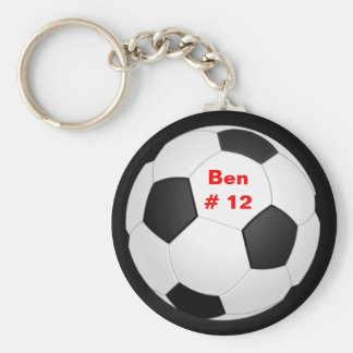 Porte - clé du football porte-clé rond