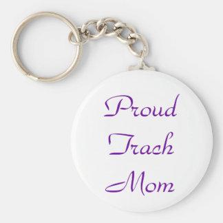 Porte - clé fier de maman de Trach Porte-clé Rond