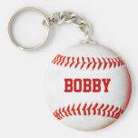 Porte - clé personnalisé de base-ball porte-clé rond