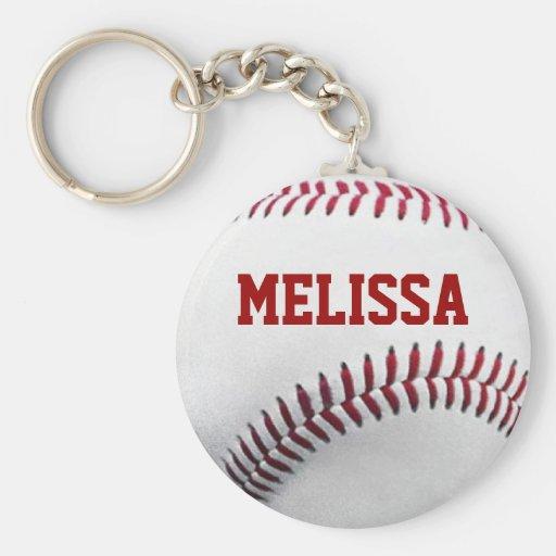 Porte - clé personnalisé du base-ball porte-clés
