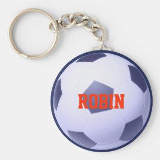 Porte - clé personnalisé du Football-Football Porte-clé Rond